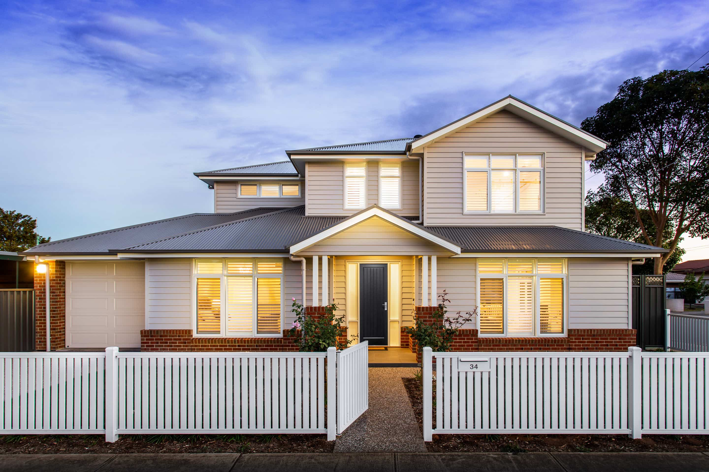 custom home builder Adelaide, Hampton's styled home Adelaide